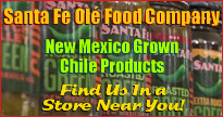 Authentic chile salsa, storable green and red chile, grown in New Mexico